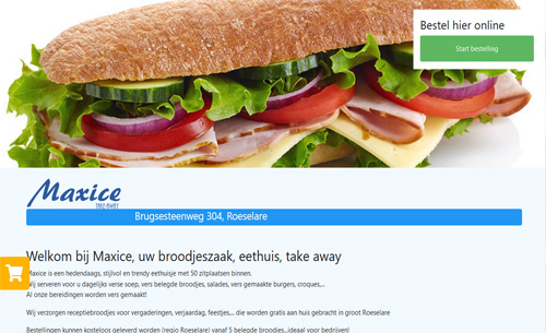 broodjeszaak Maxice